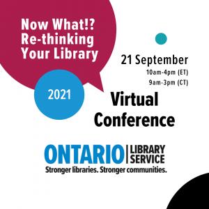 Ontario Library Service Virtual Conference